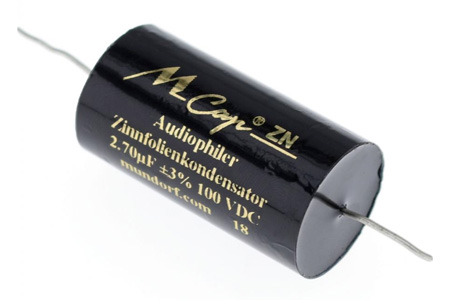 Mundorf MCap ZN Condensateur 100V 2.7µF