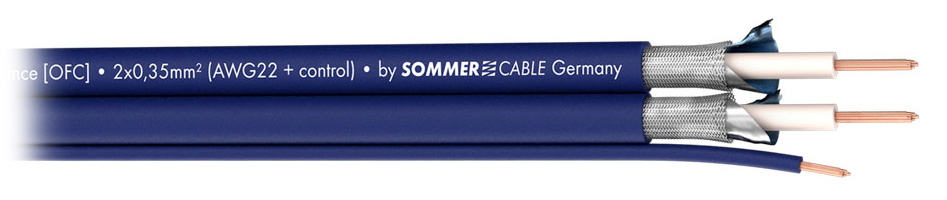 Sommercable Sinus Câble de Modulation Asymétrique 3x0.35mm² Ø6mm