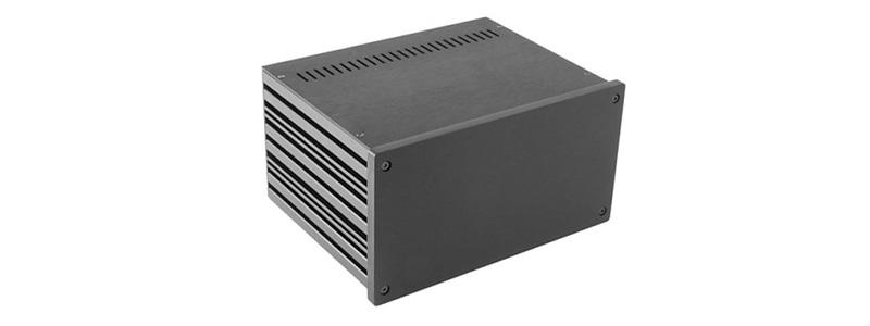 HIFI 2000 GX287 Boitier 10mm GX287 80x230x170 Facade Noire