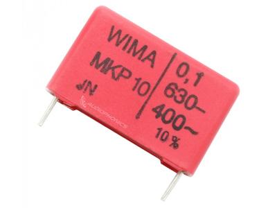 WIMA MKP10 Condensateur polypropylène 15mm 630V 0.1µF