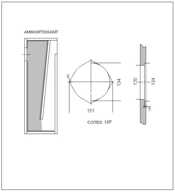 Supravox 135LB Kit DIY Ligne Acoustique