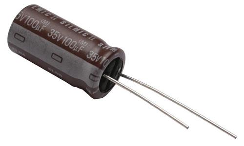 ELNA Condensateur Audio RFS Aluminium 35V 100µF