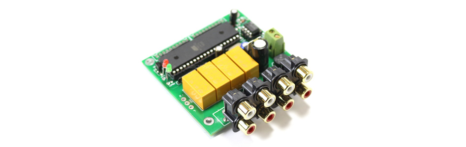 Sélecteur de source automatique 4 canaux