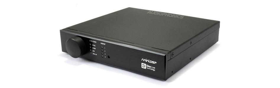 MiniDSP DDRC-22D DSP Stéréo Numérique Dirac Live 24bit 96kHz avec UMIK-1