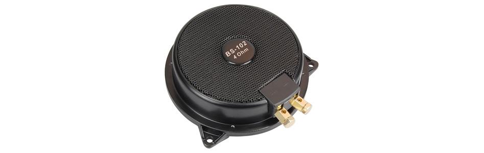 Blanko BS-102 Haut-Parleur Vibreur Exciter 50W 4 Ohm 25Hz - 55Hz Ø13cm
