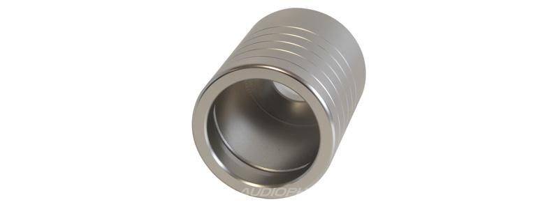 Coque Aluminium pour connecteur IEC Oyaide