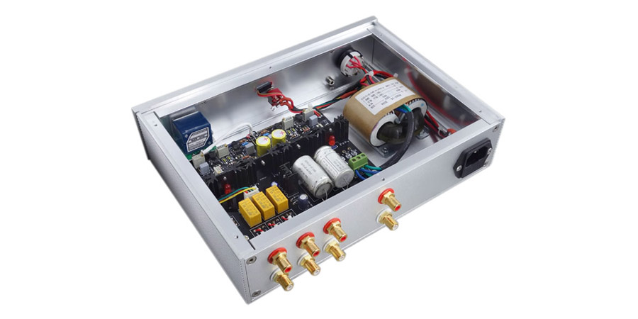 Preamplifier Class A Volume Control & Source Selector