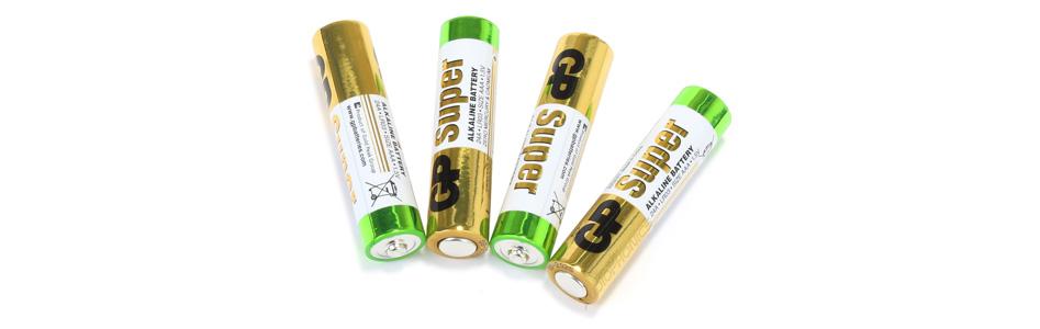 GP SUPER Pile Alcaline LR3 AAA 1.5V (Set x4)