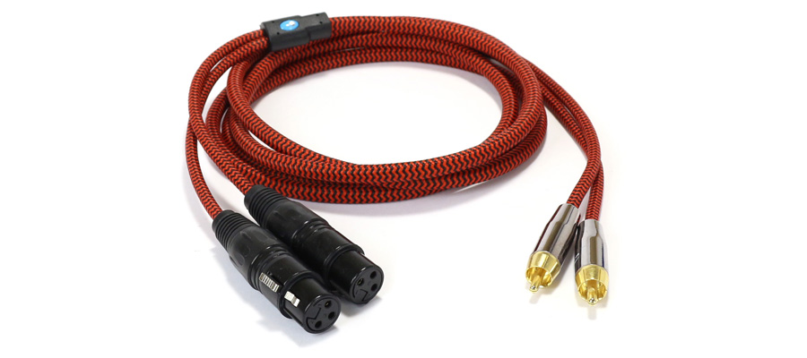 CYK Câble RCA-XLR