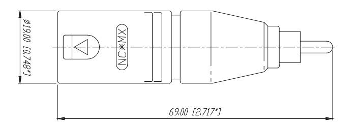 Neutrik NA2MPMM Adaptateur XLR Mâle vers RCA Mâle