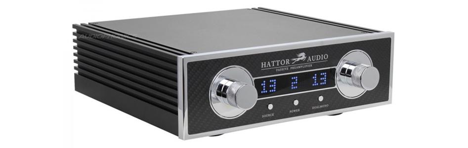 HATTOR AUDIO Préamplificateur Passif Haute Fidélité Asymétrique Pilotable