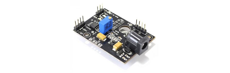 Audiophonics PI-SPC II Module de contrôle / Alimentation linéaire pour Raspberry Pi