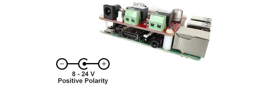 Justboom Amp HAT Amplificateur Stéréo TAS5756 2x30W 8 Ohm