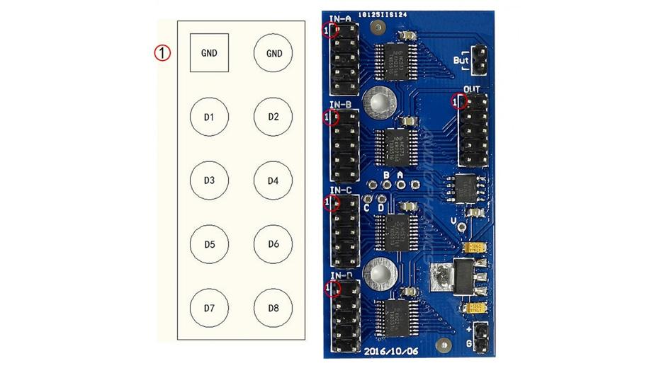 Module de sélection de source I2S 4 vers 1