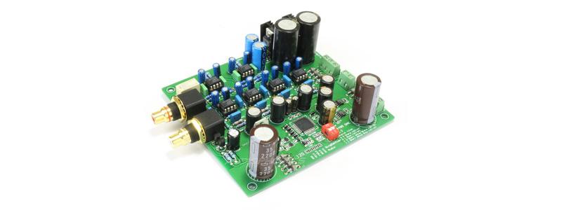 Module DAC I2S 32bit 384kHz Régulateurs L7805CV / LM337 / LM317