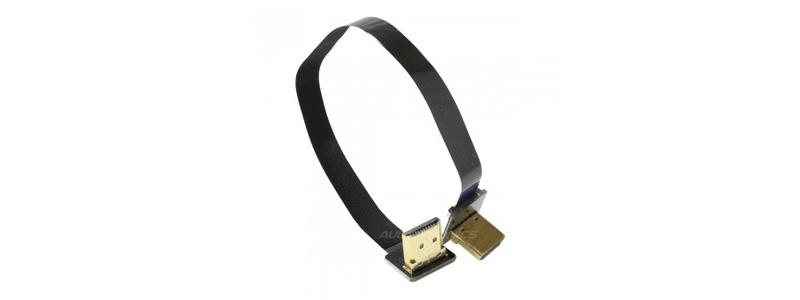 Câble HDMI Nappe Coudé