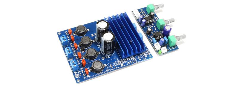 FX AUDIO M-DIY V4 TDA7498 Class D Amplifier Module 2x50W 8