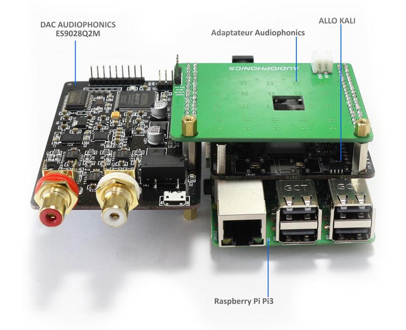 Audiophonics ES9028Q2M Kali
