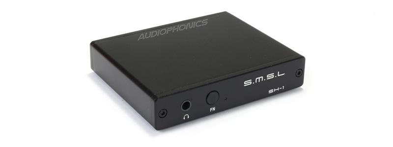 SMSL SH-1 Extracteur HDMI 1.4 Audio Optique LPCM 5.1 Fonction ARC Noir