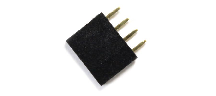 Connecteur droit 1x4pins