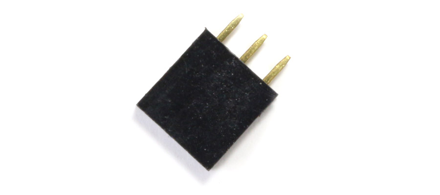 Connecteur droit 1x3pins