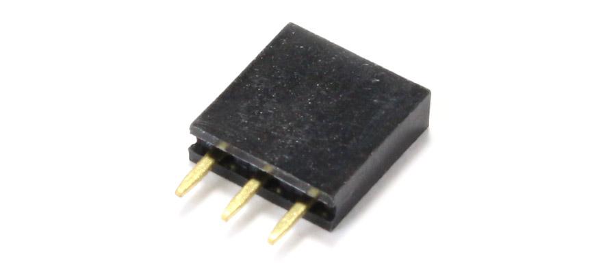 Connecteur droit 1x3 pins