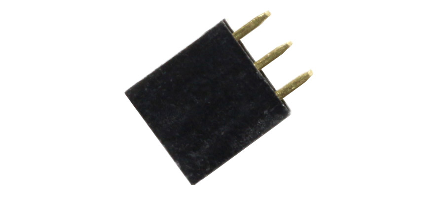 Connecteur droit 2x3pins
