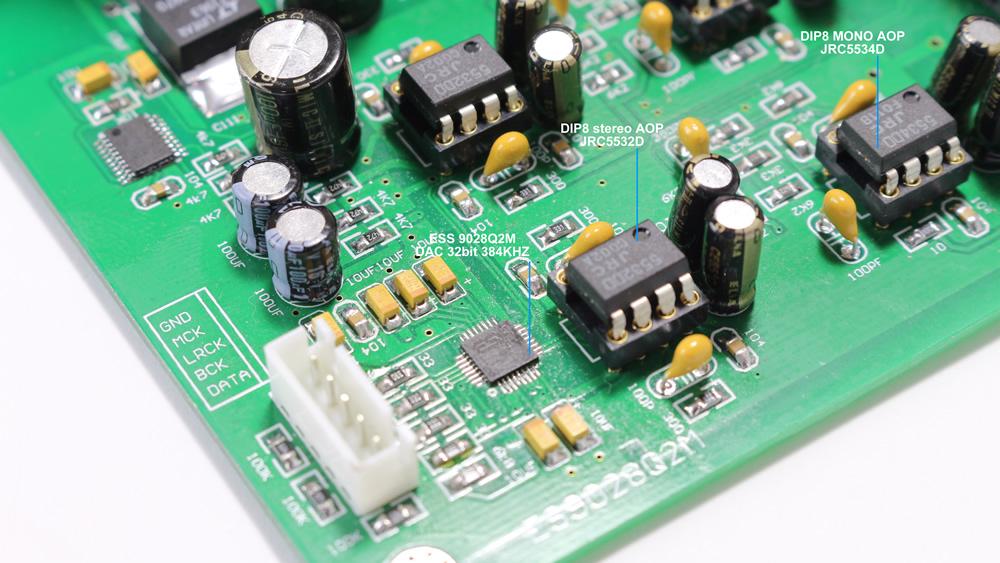 DAC ES9028Q2M I2S 32bit 384kHz DSD