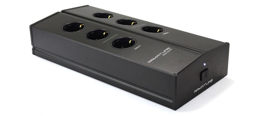 Armature Electra Distributeur Secteur Multiprise filtrée 8 prises