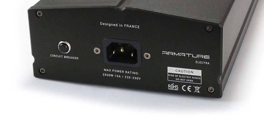Armature Electra Distributeur Secteur Multiprise sécurisé