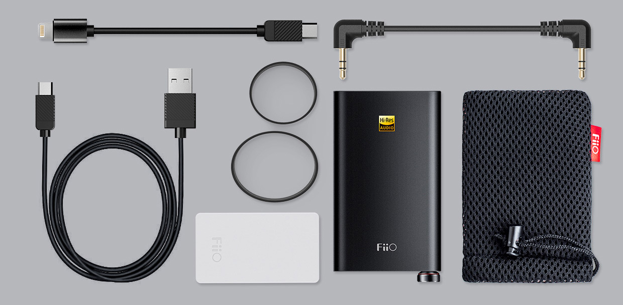 FiiO Q1 Mark II Package