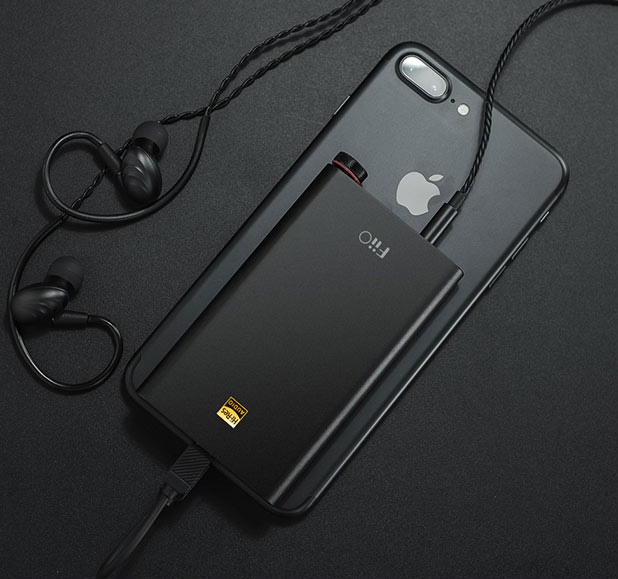 FiiO Q1 Mark II compatible iPhone