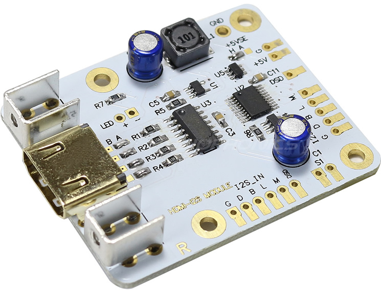 HDMI I2S LVDS to I2S Input Module HDMI I2S LVDS to I2S