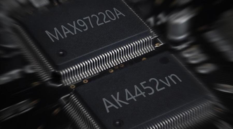 Hidizs AP60 V2 AKM AK4452VN et MAXIM MAX97220A