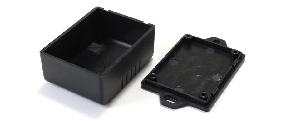 Boîtier plastique pour composants électroniques