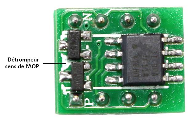 TI OPA1611 AOP Simple DIP8 (Unité)