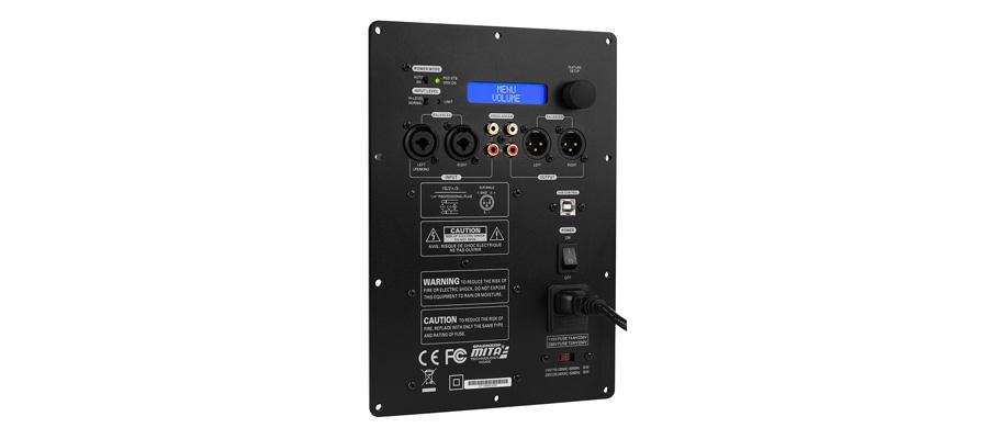 dayton audio spa250dsp amplificateur et dsp pour subwoofer