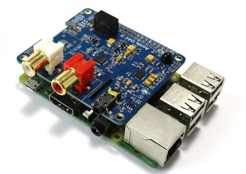 AOIDE DAC II & Raspberry Pi 3
