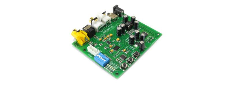 Module DAC ES9038Q2M I2S Optique Coaxial 32bit 384khz DSD256