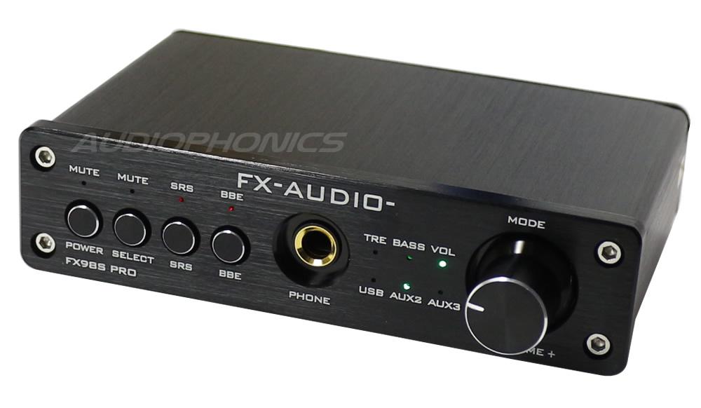 FX98S PRO Black Fx-audio