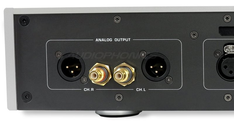 DAC100 erato balanced output Lundhal and asymmetrical