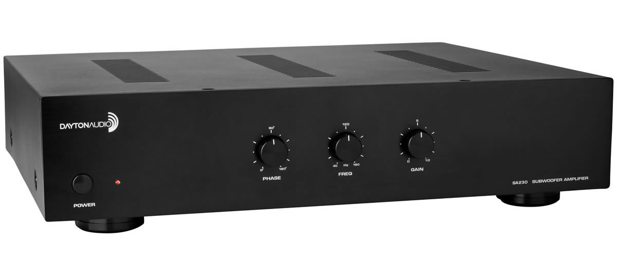 SA230 Subwoofer amplifier