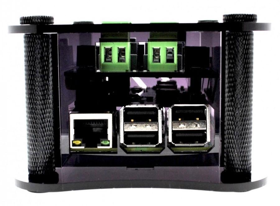 Boîtier pour Raspberry Pi 2/3 & Boss DAC & Volt Noir