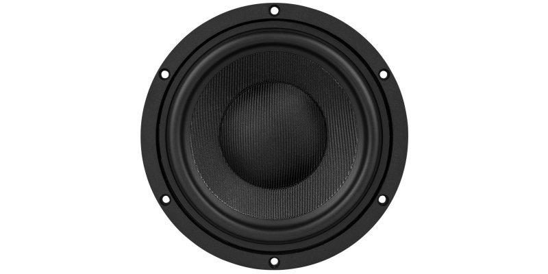 Le haut parleur ES180TiA-8 vue de face