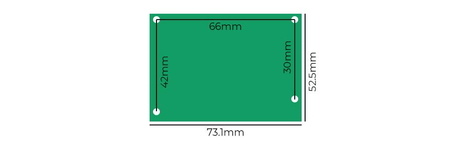 Module d'alimentation linéaire double 2x A1930 5V 1A