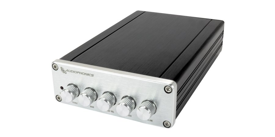 Interface amplificateur D TPA3116D2 réglages