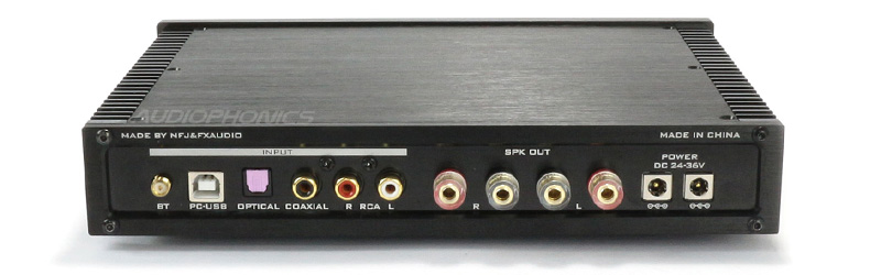 FX-Audio D2160 Connectique