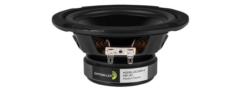 Haut parleur grave dayton audio dc130b-4