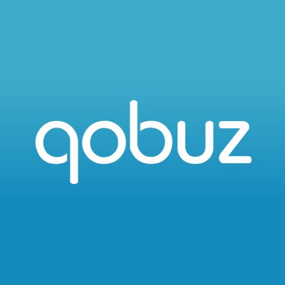 Logo qobuzz audiophile streaming platform and testing of high-fidelity listening products