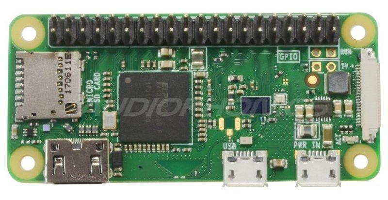 JUSTBOOM Digital player Raspberry Pi W Zero Hat Amp Zero FDA TAS5756